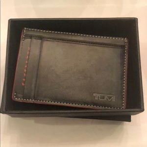 Tumi Moneyclip/cardcase wallet